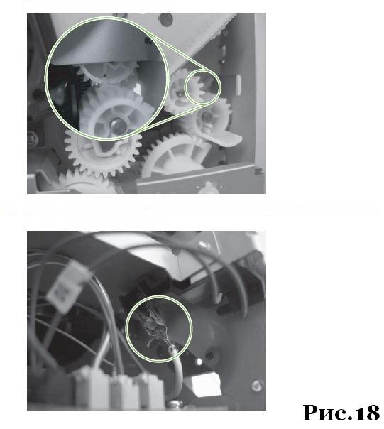 ремонт и разборка HP LJ P2030